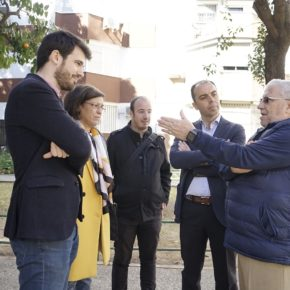 """Millán (Cs) reclama """"una fecha concreta para la recepción definitiva de la barriada de La Oliva"""""""