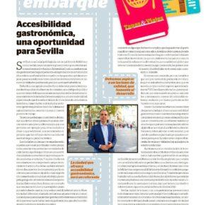 Accesibilidad gastronómica, una oportunidad para Sevilla