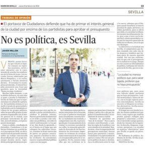 ''No es política, es Sevilla'' (Prensa)