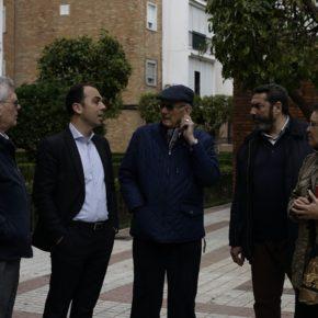 """Millán (Cs) visita San Jerónimo donde reclama """"transparencia y plazos concretos para el uso de los fondos Edusi"""""""