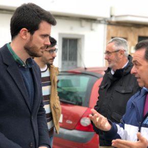 """Moyano (Cs): """"El PSOE tiene sometido al abandono al barrio de Su Eminencia"""""""