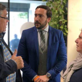 """Moraga (Cs) propone """"adecentar el solar delantero del mercado de San Gonzalo para ganar plazas de aparcamiento"""""""