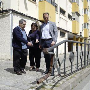 """Millán (Cs) denuncia """"el abandono creciente en todo el distrito Macarena"""""""