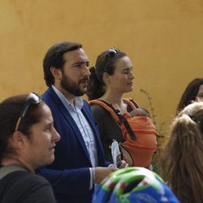 """Moraga (Cs) insiste en """"la necesidad de poda e itinerarios alternativos para la escuela infantil de los Jardines de Murillo"""""""