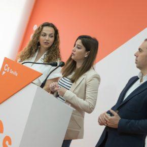 """Salmerón (Cs) resalta """"el trabajo"""" de Ciudadanos para que la conexión de Santa Justa y el aeropuerto """"sea una realidad"""""""
