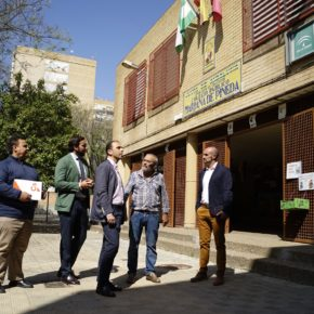 """Millán (Cs) reclama """"un calendario de intervenciones para solventar las carencias"""" del Colegio Mariana de Pineda"""