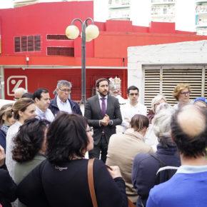 """Moraga (Cs) reclama """"actuaciones sociales y de seguridad para acabar con los conflictos en la calle Aracena de Triana"""""""