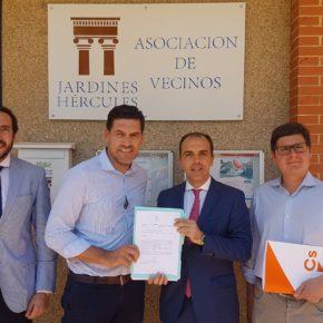 """Millán (Cs) en contra del depósito en Jardines de Hércules por """"la falta de proyecto y transparencia del gobierno"""""""
