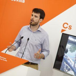 """Moyano (Cs) propone crear una entidad interadministrativa para """"garantizar la correcta conservación de la Plaza de España"""""""