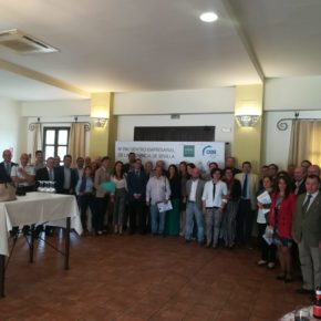 """Ciudadanos (Cs) destaca el """"envidiable"""" tejido empresarial de Morón en el IV Encuentro de Empresarios de la Provincia"""