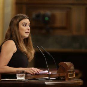 Virginia Salmerón en el debate sobre violencia de género en el Congreso de los Diputados