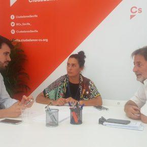 """Moyano (Cs) reclama ejecutar las iniciativas de la Red Sevilla por el Clima """"para una capital más verde y habitable"""""""