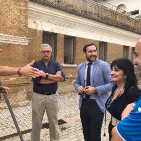 """Moraga (Cs) denuncia """"la inacción del PSOE ante los destrozos y el vandalismo en el parque de La Ranilla"""""""