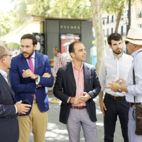"""Millán (Cs) propone la creación de """"un plan de acción contra la creciente venta ambulante ilegal en Sevilla"""""""