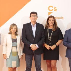 """Juan Marín: """"Estamos preparados para afrontar el reto electoral y para gobernar Andalucía"""""""