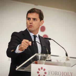 """Rivera (Cs): """"Ciudadanos va a plantear una alternativa en Andalucía y salir a por todas con un proyecto moderno y limpio"""""""