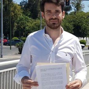 """Moyano (Cs) reclama """"que el gobierno cumpla instalando estructuras que den sombra en los puentes de Sevilla"""""""