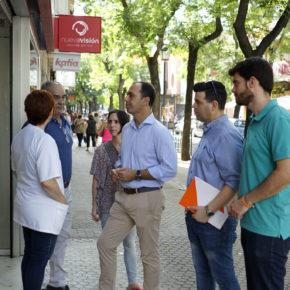 """Millán (Cs) urge a la """"policía de barrio y mayor iluminación"""" contra """"la oleada de robos en el Cerro del Águila"""""""