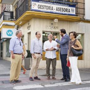 """Millán (Cs) reclama """"atención para Los Remedios más allá de la semana de Feria"""""""