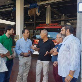 """Millán (Cs) urge a """"rehabilitar el actual parque de bomberos de Pino Montano"""" así como a """"crear uno nuevo a medio plazo"""""""