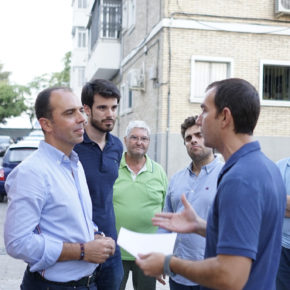 """Millán (Cs) denuncia """"los incumplimientos del gobierno del PSOE con los vecinos de San Pablo"""""""