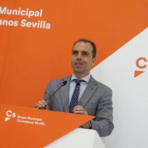 """Millán (Cs) solicita """"un pacto de ciudad entre las fuerzas constitucionales para que Sevilla funcione"""""""