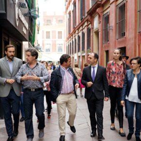 """Millán (Cs) realiza """"una defensa férrea del comercio tradicional para mantener la identidad y personalidad de Sevilla"""""""