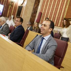 """Millán (Cs): """"Los sevillanos pierden 18 millones de euros en inversiones por la incapacidad del gobierno del PSOE"""""""