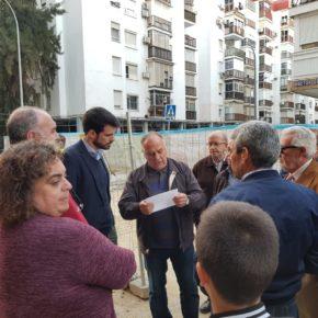 """Moyano (Cs) exige al PSOE que """"garantice por escrito que no se perderán plazas de aparcamiento en Santa Justa"""""""