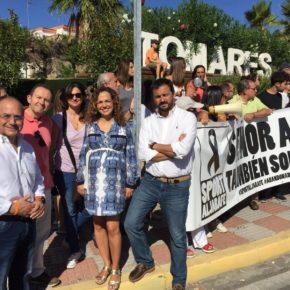 """Escrivá (Cs): """"Es urgente ayudar a las 11 familias de Sport Aljarafe y que las Administraciones se dejen de promesas incumplidas"""""""