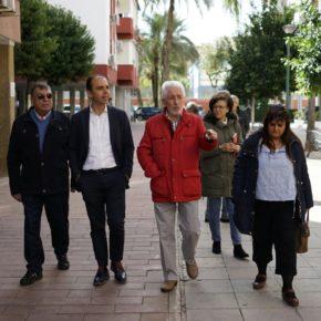 """Millán (Cs) denuncia """"el grave abandono y los reiterados incumplimientos del alcalde del PSOE en el distrito Macarena"""""""