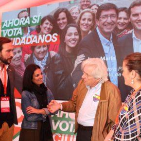 """Javier Nart (Cs) afirma que """"Andalucía no merece encontrarse a la cola de Europa por el régimen clientelar del PSOE"""""""