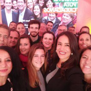 """Begoña Villacís (Cs): """"Ciudadanos es la oportunidad de cambio para Andalucía y para todos sus municipios"""""""