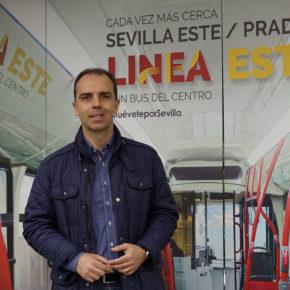 Millán (Cs) reclama que las líneas exprés funcionen los fines de semana e implantar la conexión para Bermejales-Bellavista