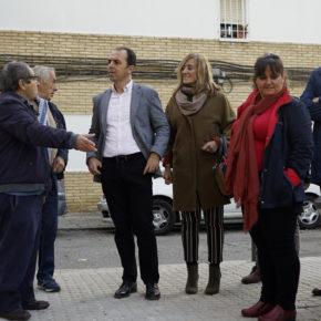 """Millán (Cs) denuncia """"el abandono"""" al que el alcalde del PSOE """"tiene sometido a los vecinos de la Macarena"""""""