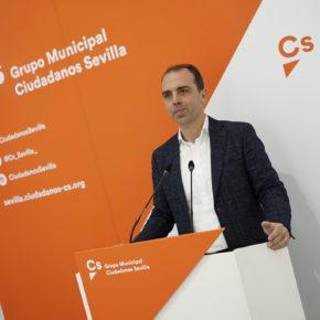 """Millán (Cs) insta a PSOE y PP a que """"sean responsables y demuestren que Sevilla es lo único importante desbloqueando el presupuesto"""""""
