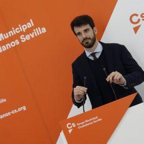 """Moyano (Cs) apuesta por """"una Sevilla más accesible"""" con partidas presupuestarias de más de dos millones de euros"""