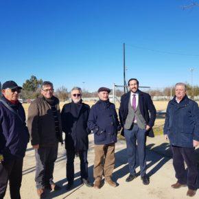 """Moraga (Cs) celebra los avances en el Centro Deportivo Vega de Triana para el que requiere """"nuevas y necesarias actuaciones"""""""