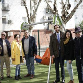 """Moraga (Cs) reclama que el alcalde del PSOE """"cumpla con la instalación de parques infantiles inclusivos en toda Sevilla"""""""