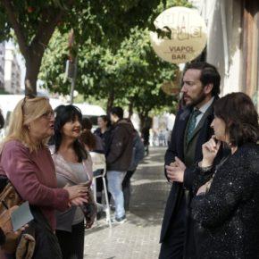 """Moraga (Cs) denuncia que el gobierno del PSOE """"tiene abandonados a los comerciantes de Viapol"""""""