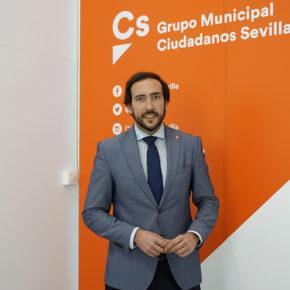Moraga (Cs) pone en valor que el Gobierno andaluz impulse la implantación del papel cero en la Administración local