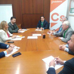Ciudadanos (Cs) trasladará al Parlamento las iniciativas necesarias para mejorar la actividad empresarial de Cartuja