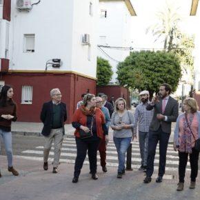 """Moraga (Cs) denuncia """"el abandono mantenido y los incumplimientos del PSOE en la barriada del Carmen"""""""
