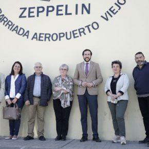 """Moraga (Cs) reclama """"actuar contra la ocupación ilegal y el abandono en la barriada de Aeropuerto Viejo"""""""