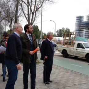 """Moraga (Cs) reclama al gobierno del PSOE """"atención para Los Remedios más allá de la semana de Feria"""""""
