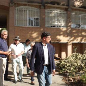 """Pimentel (Cs) denuncia el """"lamentable estado"""" en que el PSOE ha dejado el solar de Hispano Aviación"""