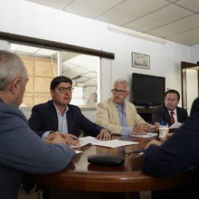 Pimentel (Cs) reafirma la apuesta de Ciudadanos por los polígonos industriales como pilares de la actividad económica de Sevilla