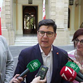 """Pimentel (Cs) critica la """"falta de transparencia"""" de Espadas en la gestión de los fondos europeos"""