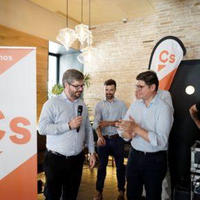 """Fran Hervías (Cs): """"Estamos a un puñadito de votos de conseguir el cambio que Sevilla necesita"""""""