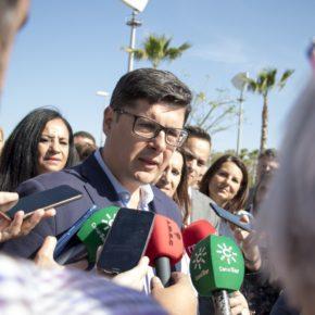 """Pimentel: """"Exigimos que Espadas reclame a Sánchez la ejecución de los 5 millones de euros para el Cercanías del aeropuerto"""""""